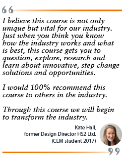 CEM testimonial - Kate Hall