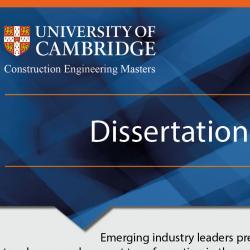 CEM Dissertation Conference 2020