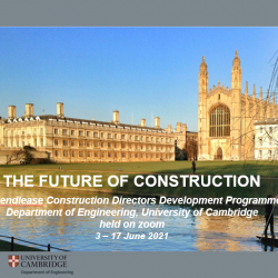Lendlease construction directors Programme