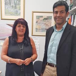 Dr Tharaka Gunawardena's visit to UK