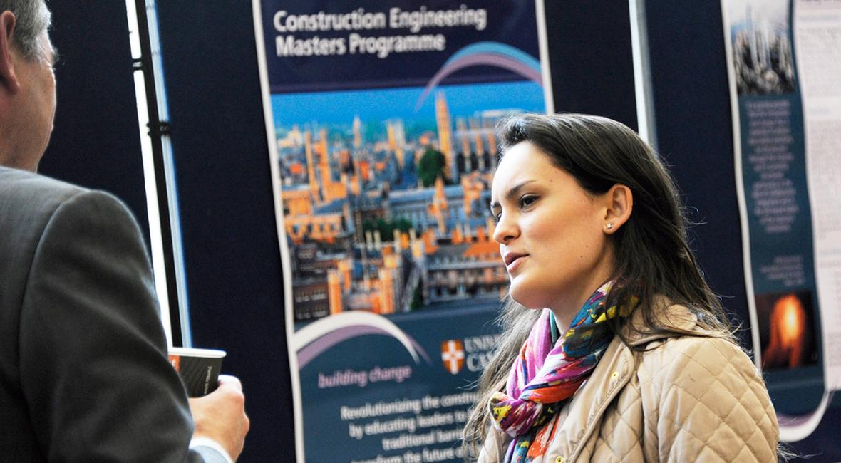 Construction Engineering Masters - Application details