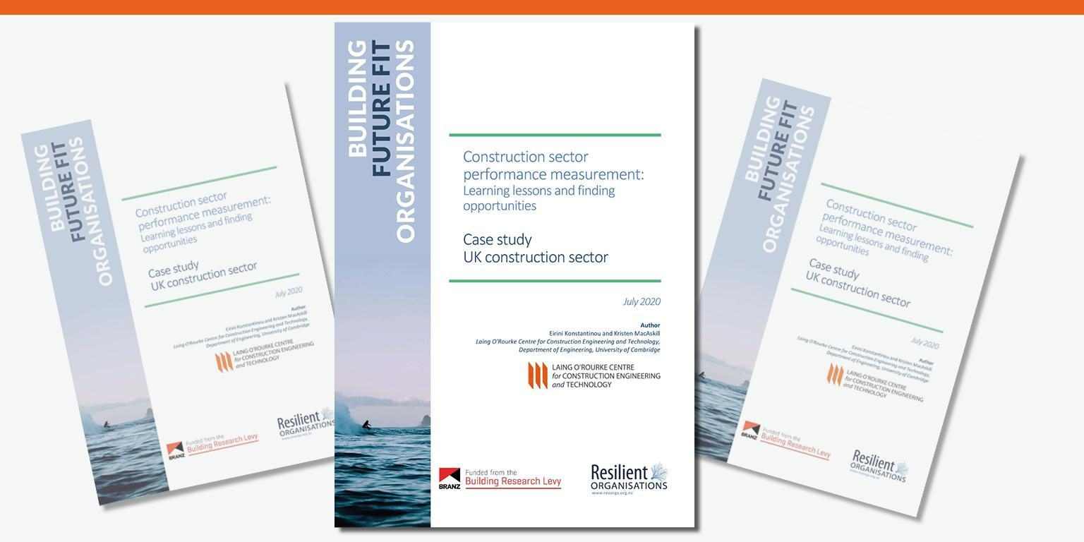 Construction sector performance measurement: Learning Lessons and finding opportunities. Case Study: UK Construction Sector